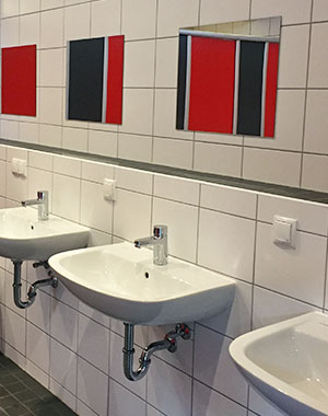 Campsite Runkel Sink Washbasin