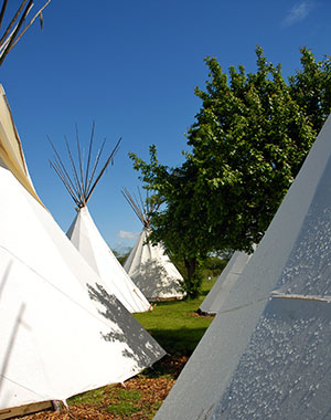 Campground Solms Tipis