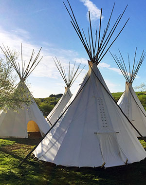 Campground Solms Tipi Village