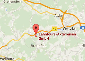Lahntours Karte Map Solms Schohleck