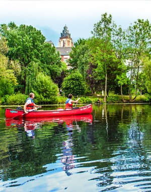 Canoeing in Wetzlar